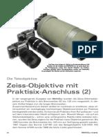 Zeiss-objective mit praktisix-anschluss
