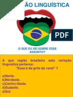 variação linguistica