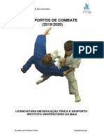 Matéria Desportos de Combate - Ismai (Lic) 2019