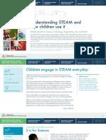 Understanding STEAM and How Children Use It