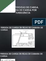 4 PERDIDA DE CARGA POR TURBULENCIA.pptx
