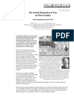 The Jewish Declaration of War on Nazi Germany