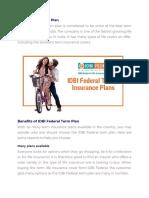 IDBI Federal Term Plan