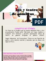 Títeres y Teatro de Sombras