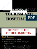 THE HISTORY OF TOURISM AND HOSPITALITY report.pptx