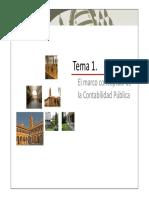 marco contable de la contabilidad publica