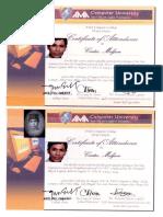 MELJUN CORTES 2011 AMA Pasig Certificate Familiarization of SQL Server VB Net
