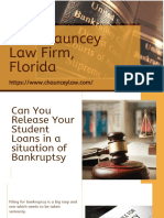 Can You Release Your Student Loans in a Situation of Bankruptsy