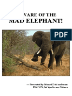 Beware of the Mad Elephant- Vaishnava Aparadha