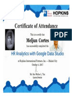 MELJUN CORTES 2017 Hopkins HR Analytics With Google Data Studio October 4 2017