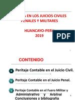 Pericia en Los Juicios Civiles Penales y Militar 2019