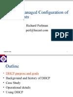 DHCP Basics 2002
