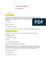 Losses In Cooling Tower..pdf