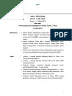 Format Sk Penyelenggaraan Kontrak Pihak III