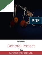 SATVAM-A Project Report
