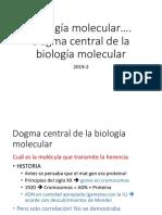 Clases Biología Molecular Dogma Central de La BM