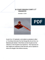 Howard County Drug/DUI Court's 12th Graduation Nov. 17, 2010