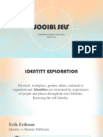 Social Self Ppt