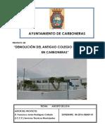 Proyecto Demolicion Simon Fuentes