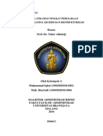 Strategi Akuisisi Dan Restrukturisasi