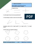 ejercicios matematicas ángulos 1 eso