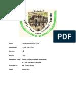 Civil Procedure Code Assignment.rtf