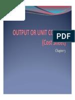 Unit Costing