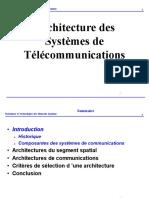 Architecture des systèmes de télécommunications