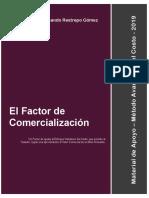 El Factor de Comercialización - Metodo Costo - BLQ