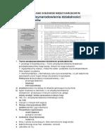 Zarządzanie w Biznesie Międzynarodowym