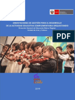 Orientaciones Para Implementación Orquestando VF
