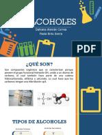 EXPOSICIÓN ALCOHOLES