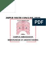 MOU Campus Ambassador JYC20