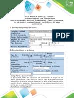 Guía de Actividades y Rúbrica de Evaluación, Fase 2 - Interpretar Los Parámetros Hidrogeológicos y Movimientos Del Agua Subterránea