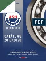 Catálogo ASH 2019