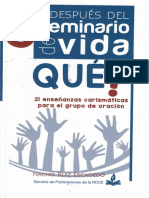 Y Después del Seminario de Vida Que_ 21 enseñanzas carismáticas para el grupo de Oración - Nacho Ruiz Escagedo.pdf