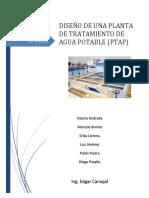 Informe Primer Parcial_Planta de tratamiento
