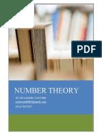Number Theory Muzammil Tanveer