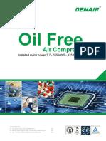 DENAIR Oil-free Air Compressor