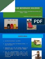 Gestion y Manejo de Residuos de Eess May 2019