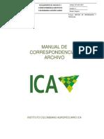 Manual de Correspondencia y Archivo Ica