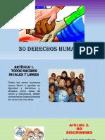 30 Derechos Humanos