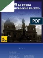 29 DE ENERO, DÍA DEL HEROÍSMO PACEÑO