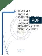 Plan de Contingencia en Estado de Emergencia 2019