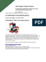 Metode Belajar Bahasa Inggris Tanpa Grammar