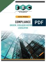 Compliance, Origem, Evolução Histórica e Legislativa