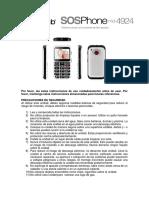 Senior PhoneW23 Manual