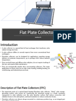 Flat Plate Collector