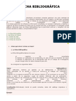 La Ficha Bibliográfica