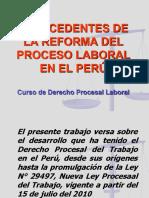 Antecedentes Del Proceso Lablral